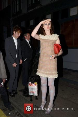 Richard Jones standing with his wife Sophie Ellis-Bextor outside The Groucho Club in London London, England - 06.09.11