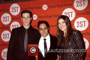 Pablo Schreiber, Rajiv Joseph and Jennifer Carpenter  Opening night after party for the Second Stage Theatre production of 'Gruesome...