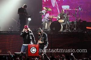 Axl Rose and Guns N Roses