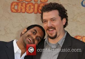 Aziz Ansari and Danny McBride  Spike TV's 5th Annual 2011 'Guys Choice Awards' held at Sony Pictures Studios -...