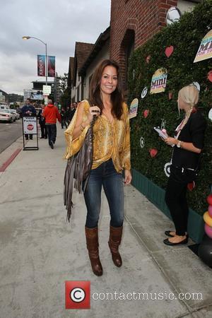 Brooke Burke Celebrities arrive at the 'Harajuku Mini' Launch Party at Jim Henson Studios Los Angeles, California - 12.11.11