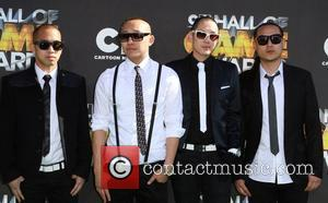 Far East Movement Cartoon Network 'Hall of Game Awards' held at The Barker Hanger  Santa Monica, California - 21.02.11