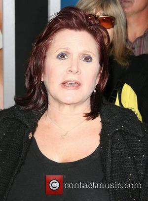 Carrie Fisher Los Angeles Premiere of Warner Bros. Pictures' Hall Pass held at the Cinerama Theatre Los Angeles, California