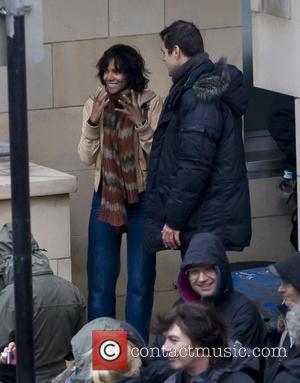 Halle Berry and Tom Tykwer