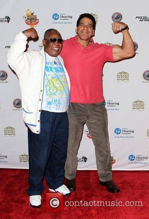 Sam Moore and Lou Ferrigno