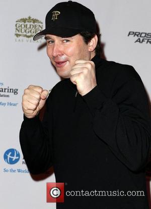 Phil Hellmuth Jr Celebrities, Poker Pros and Football Stars Raise Their Hand For Africa Texas Hold'em Charity Tournament held at...