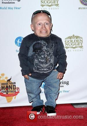 Verne Troyer Celebrities, Poker Pros and Football Stars Raise Their Hand For Africa Texas Hold'em Charity Tournament held at The...