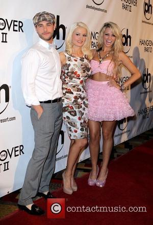 Josh Strickland, Angel Porrino and Holly Madison