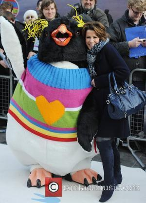 Natasha Kaplinsky  'Happy Feet Two' European premiere held at the Empire Leicester Square - Arrivals London, England - 20.11.11