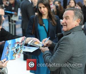 Robin Williams  'Happy Feet Two' European premiere held at the Empire Leicester Square - Arrivals London, England - 20.11.11