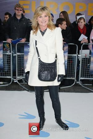 Anthea Turner and Empire Leicester Square