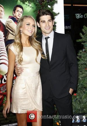 Melissa Ordway, Justin Gaston The Premiere of 'A Very Harold & Kumar 3D Christmas' held at the Chinese Theatre Hollywood,...