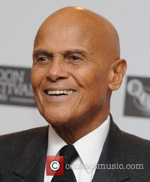 Harry Belafonte  at a photocall for 'Sing Your Song' at BFI London Film Festival at Vue  London, England-...