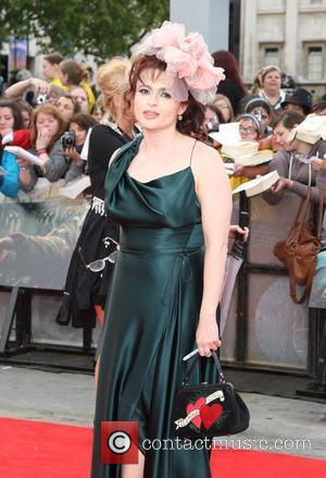 Helena Bonham Carter and Jade Olivia