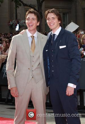 James Phelps and Oliver Phelps 'Harry Potter and The Deathly Hallows - Part 2' World Premiere - Arrivals London, England...
