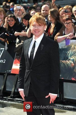 Rupert Grint Overwhelmed By Fan Support At Harry Potter World Premiere
