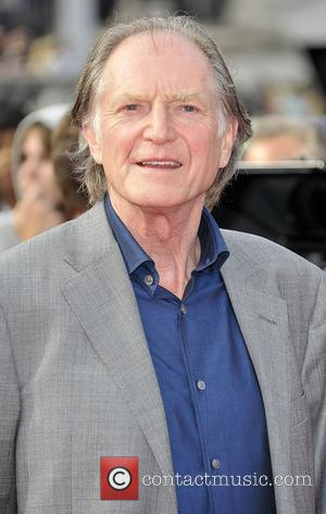 David Bradley,  Harry Potter And The Deathly Hallows: Part 2 - world film premiere held on Trafalgar Square -...