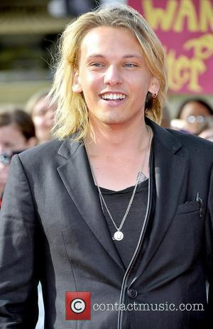 Jamie Campbell Bower,  Harry Potter And The Deathly Hallows: Part 2 - world film premiere held on Trafalgar Square...