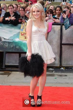 Evanna Lynch World Premiere of Harry Potter, Deathly Hallows, Part 2 - Arrivals  London, England - 07.07.11