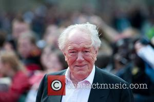 Michael Gambon Harry Potter And The Deathly Hallows: Part 2 - world film premiere held on Trafalgar Square - Arrivals....