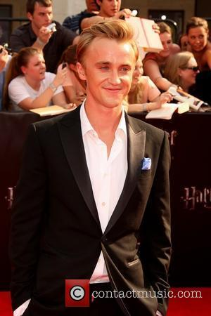 Tom Felton New York premiere of 'Harry Potter And The Deathly Hallows: Part 2' at Avery Fisher Hall - Arrivals...