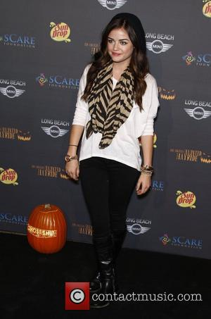 Lucy Hale The 3rd annual Los Angeles Haunted Hayride VIP opening night at Griffith Park Los Angeles, California - 09.10.11