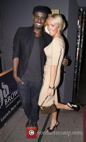 Mason Smillie And Aisleyne Horgan-Wallac,  at the Embassy Club London for HD Brows launch party. London, England - 31.05.11