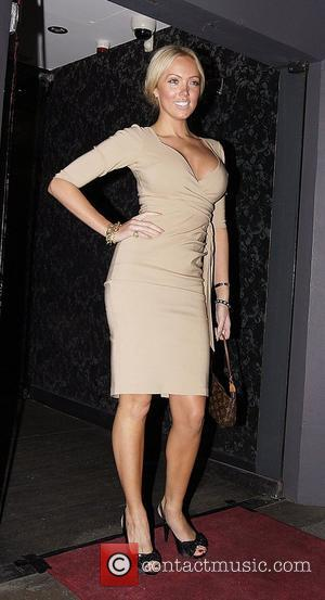 Aisleyne Horgan-Wallace,  at the Embassy Club London for HD Brows launch party. London, England - 31.05.11