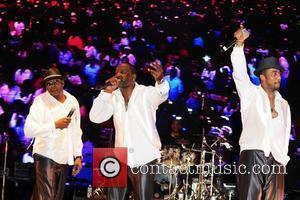 Bobby Brown, Johnny Gill and Ralph Tresvant