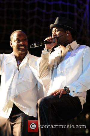 Johnny Gill and Bobby Brown