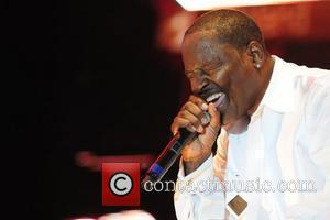 Johnny Gill Heads of State perform at the 6th Annual Jazz In The Gardens at the Sun Life Stadium...