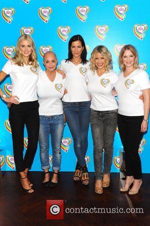 Donna Air, Gail Porter, Joanna Page, Kate Lawler and Melinda Messenger