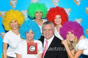 Melinda Messenger, Donna Air, Eamonn Holmes, Gail Porter, Joanna Page and Kate Lawler
