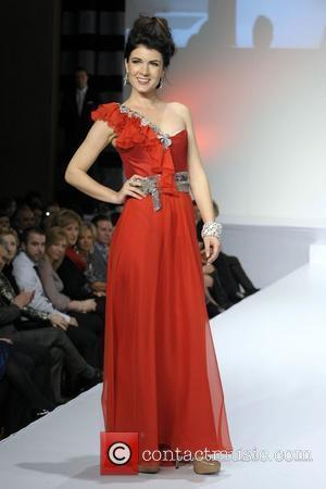 Gabrielle Miller 'The Heart Truth' fashion show held at The Carlu Toronto, Canada - 24.03.11