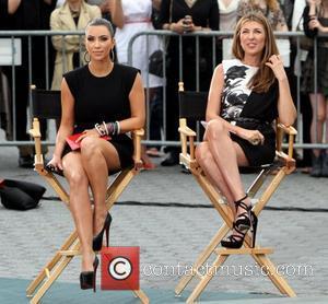 Kim Kardashian and Nina Garcia