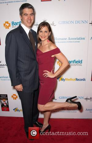 Keith Christian and Kellie Martin and Beverly Hilton Hotel