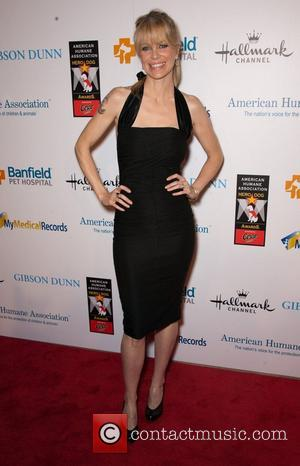 Kristin Bauer and Beverly Hilton Hotel
