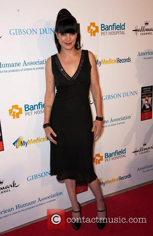 Pauley Perrette and Beverly Hilton Hotel