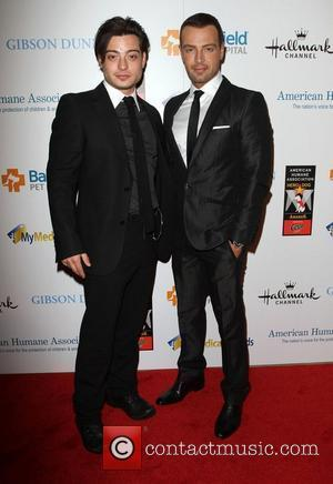 Andrew Lawrence, Joseph Lawrence and Beverly Hilton Hotel