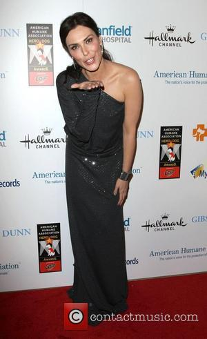 Michelle Forbes and Beverly Hilton Hotel