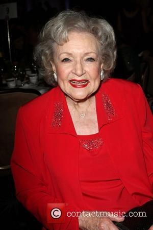 Betty White and Beverly Hilton Hotel