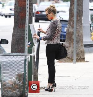 Hilary Duff and Maxwell