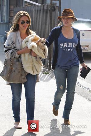 Hilary Duff and Haylie Duff