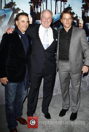 Andy Garcia, Jerry Weintraub and Matt Damon