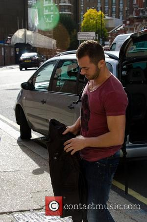 Artem Chigvintsev arriving at rehearsals for 'Strictly Come Dancing' London, England - 19.10.11