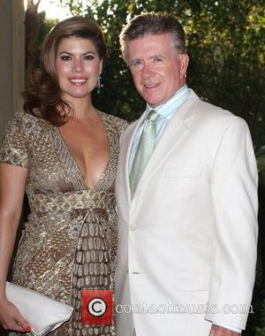 Alan Thicke and Sharon Osbourne