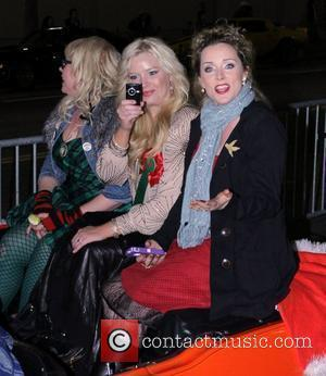 Kirsten Vangsness and Melissa Peterman and Barbara Alyn Woods  The 80th Anniversary of The Hollywood Christmas Parade benefiting Marine...
