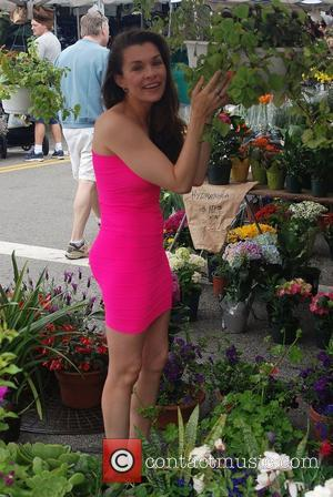 Alicia Arden Celebrities spend the day shopping at the Hollywood Farmers Market  Los Angeles, California, USA - 22.05.11