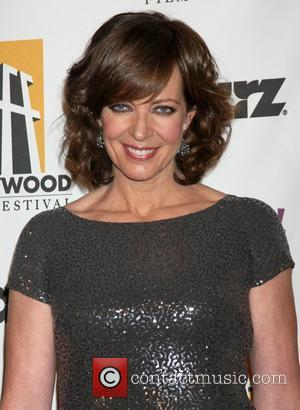 Allison Janney and Beverly Hilton Hotel