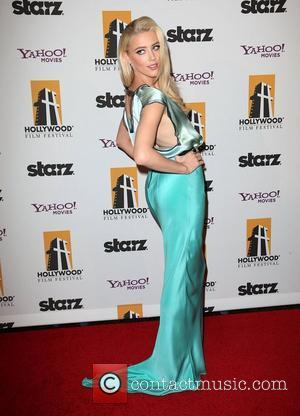 Amber Heard 15th Annual Hollywood Film Awards Gala Presented By Starz - Arrivals at The Beverly Hilton Hotel Beverly Hills,...